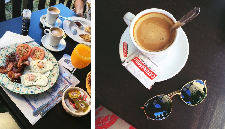Ein perfekter Tag in Malaga Cafe
