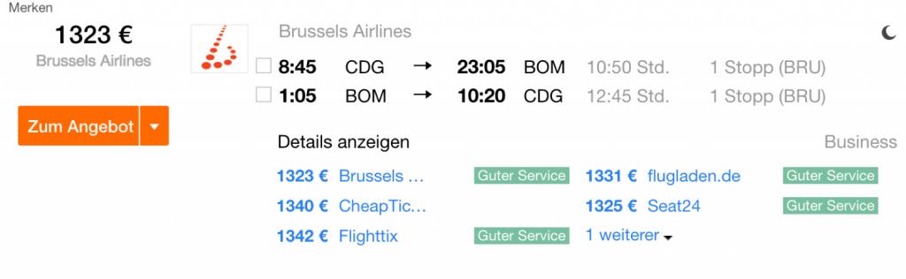 Lufthansa Statusmeilen mit Brussels Airlines sammeln