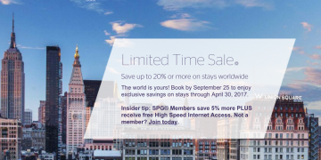 SPG Limited Time Sale
