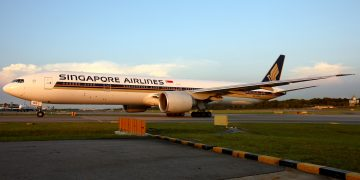 Singapore Airlines Business Class nach Australien