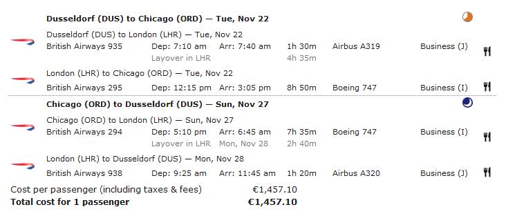 Dreifache Avios bei British Airways sammeln