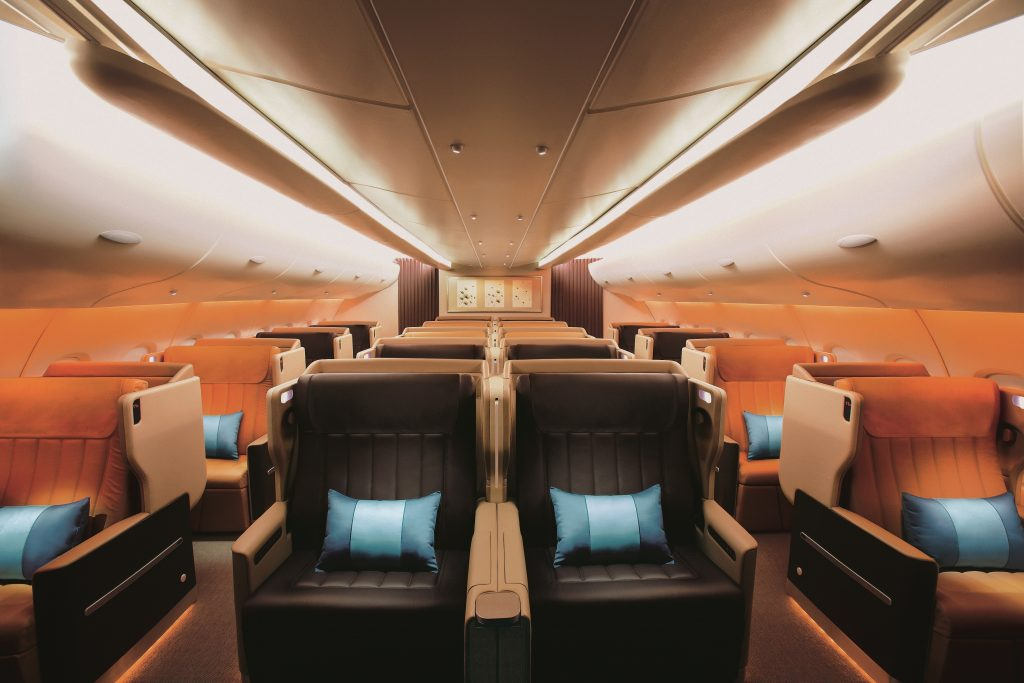 Singapore airlines Business Class nach New York