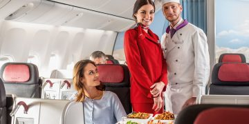 Austrian Airlines Business Class nach Asien