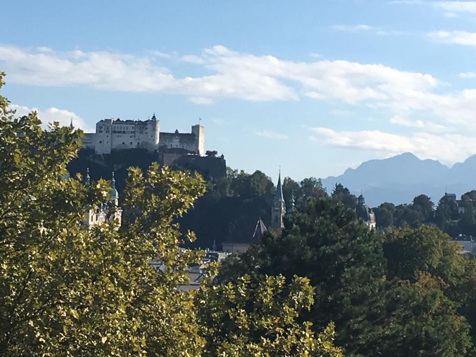 Sheraton Grand Salzburg Ausblick