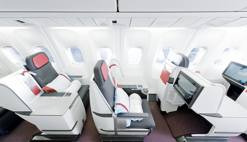 Austrian Airlines Business Class Angebote