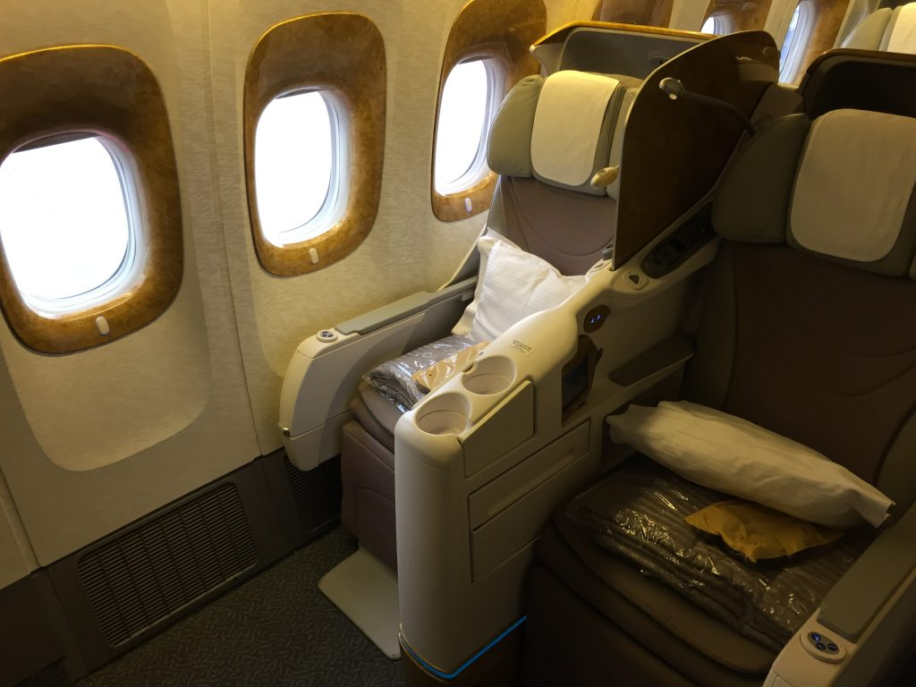 InsideFlyer Wochenrückblick Emirates Business Class