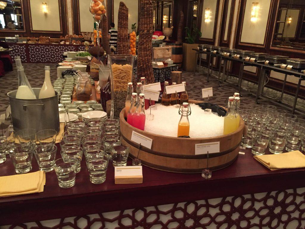 Le Meridien Dubai - Frühstück
