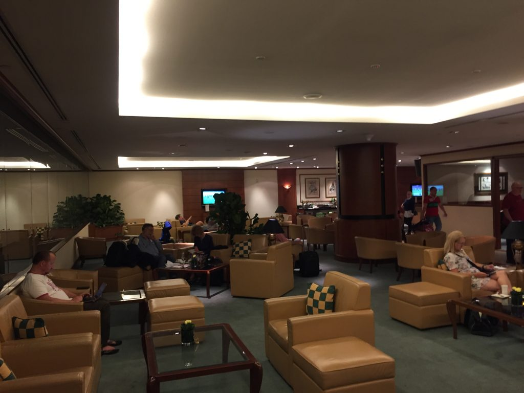 Emirates Lounge Singapur