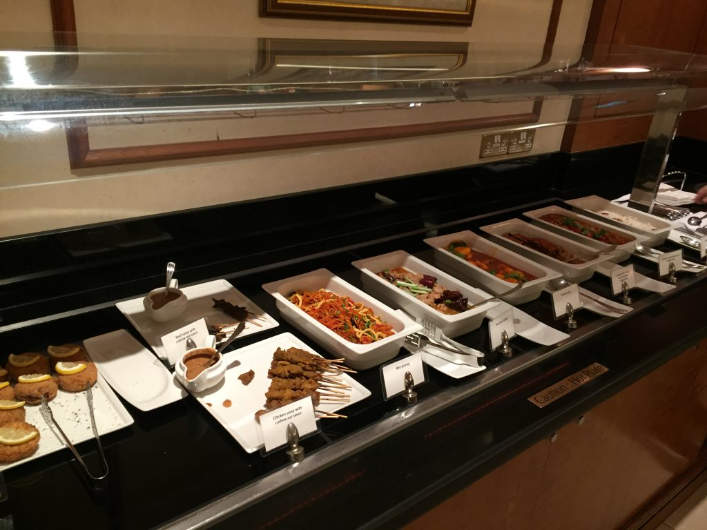 Emirates Lounge Singapore Buffet