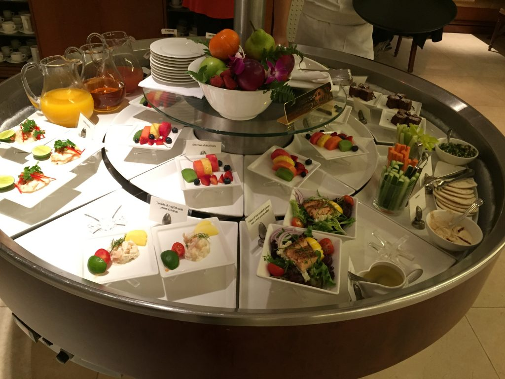 Emirates Lounge Singapur Buffet