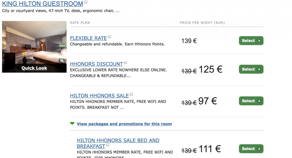 Hilton Flash Sale Hilton Berlin
