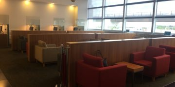 Cathay Pacific Lounge Frankfurt