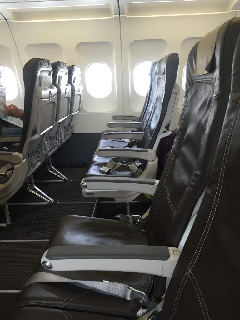 Swiss European Business Class Kabine A320