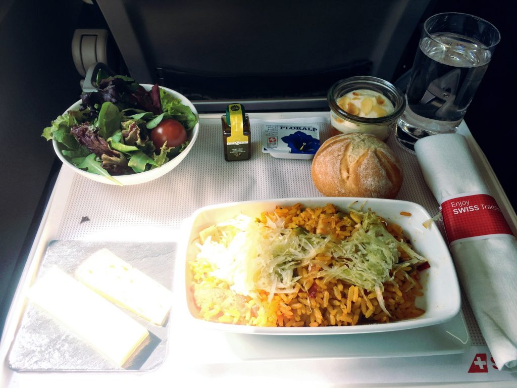 Swiss European Business Class - Catering