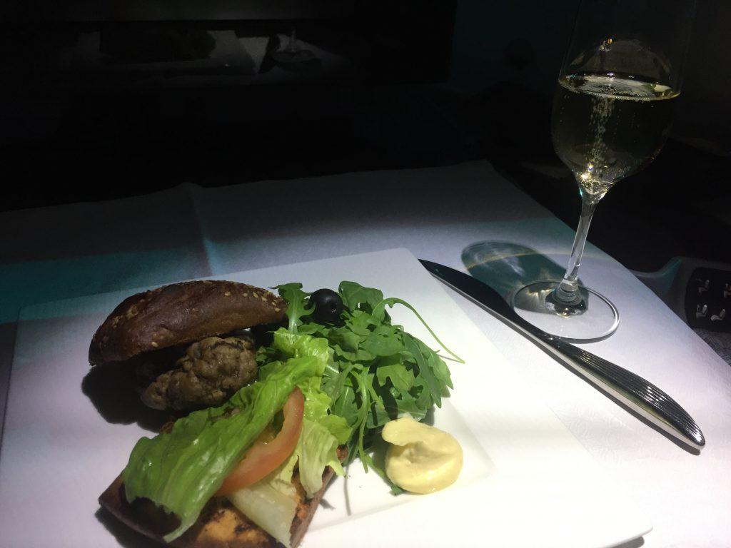Qatar Airways Business Class- Snack