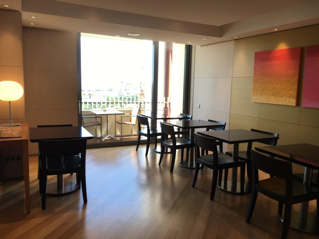 Hilton Athens Executive Lounge