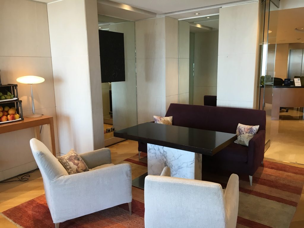 Hilton Athens Executive Lounge
