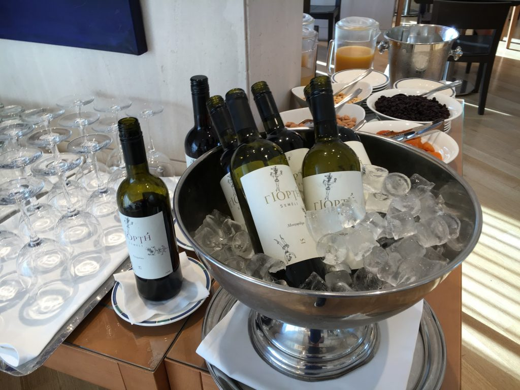 Hilton Athens Executive Lounge Getränke