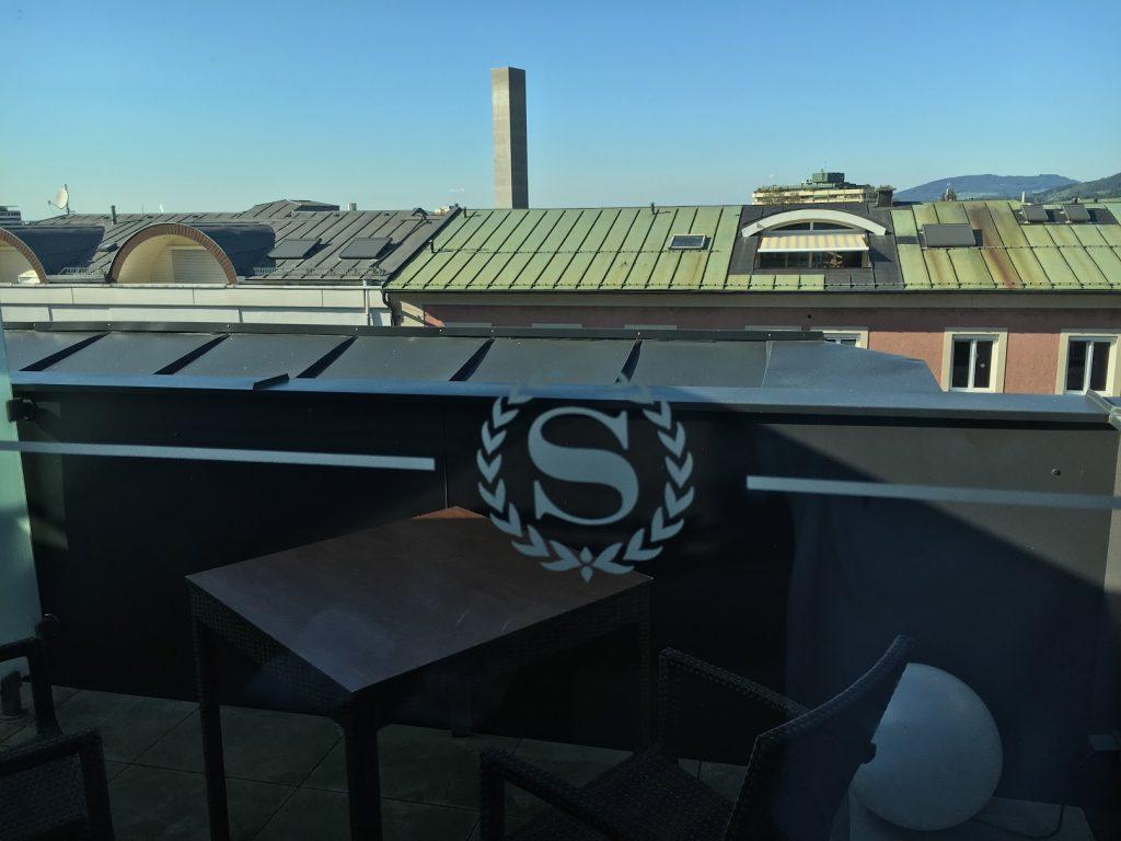 Sheraton Grand Salzburg Sky Suite Balkon