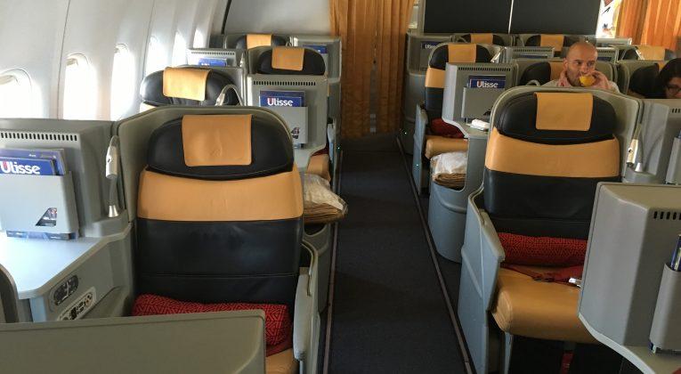 InsideFlyer Wochenrückblick Alitalia Business Class