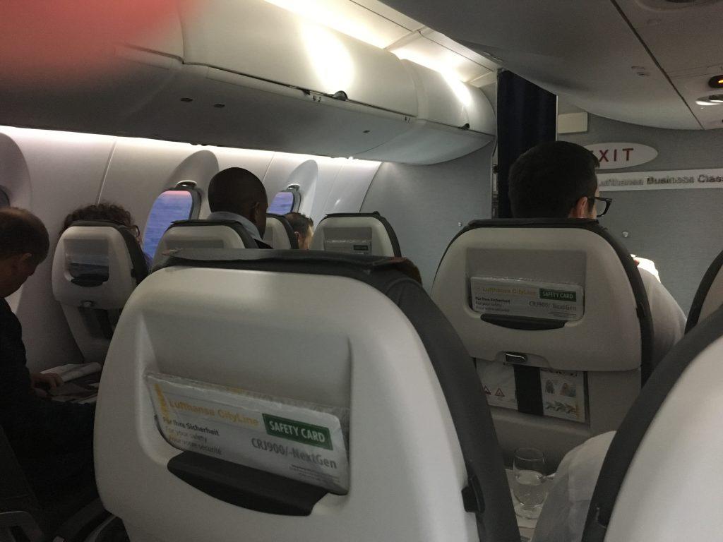 Lufthansa Business Class Kurzstrecke