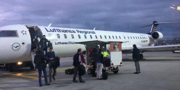 Lufthansa Business Class CRJ 900