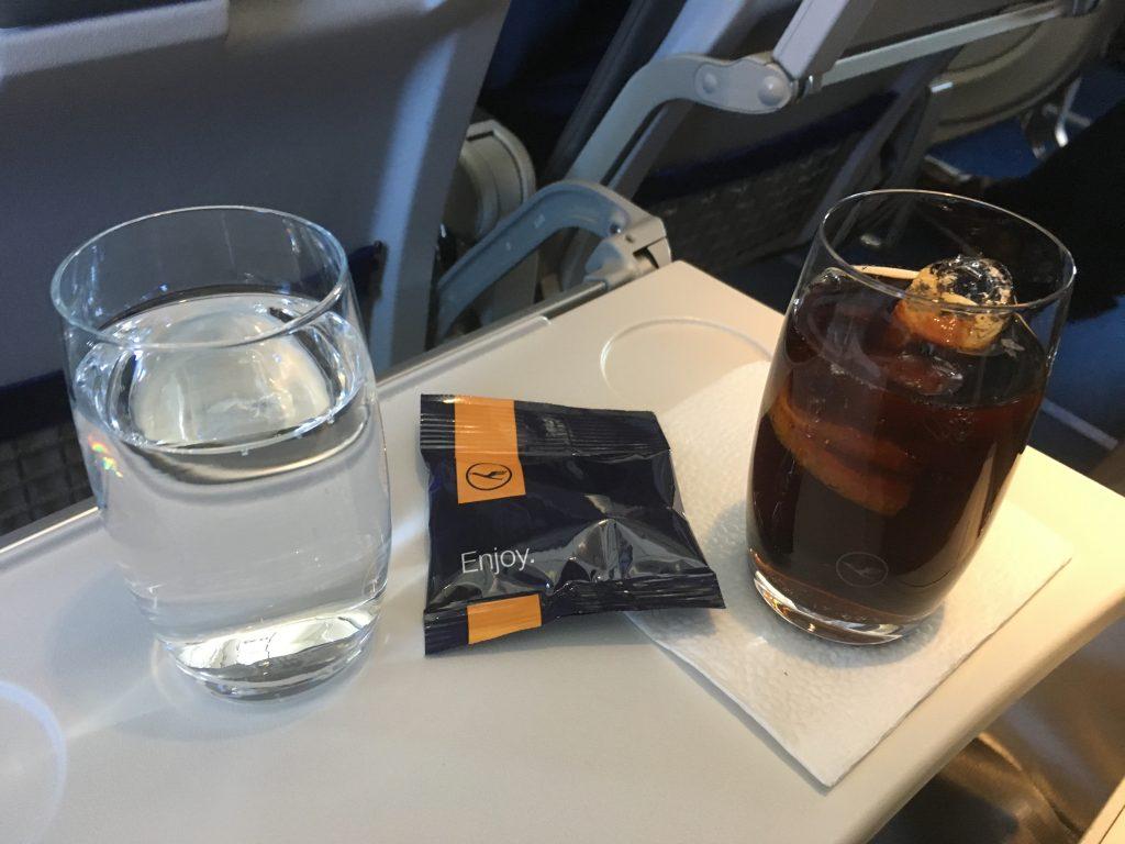 Lufthansa Business Class Aperitif