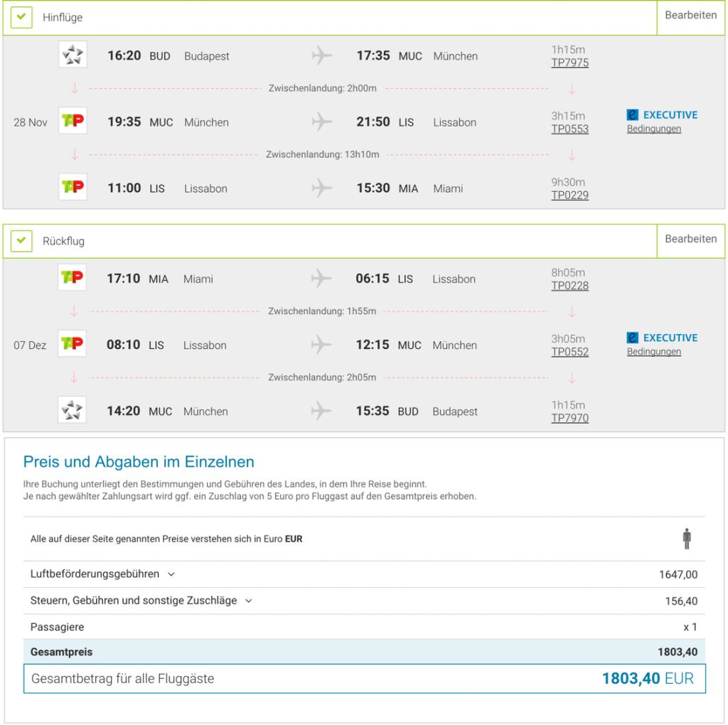 Lufthansa Statusmeilen mit TAP sammeln