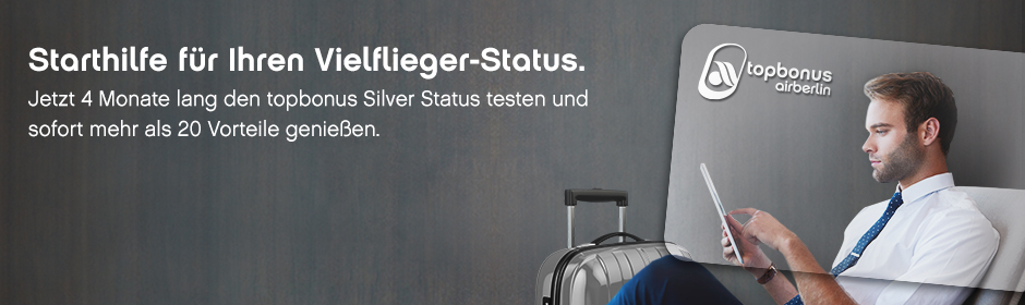 InsideFlyer Wochenrückblick kostenfreier airberlin Silver Status
