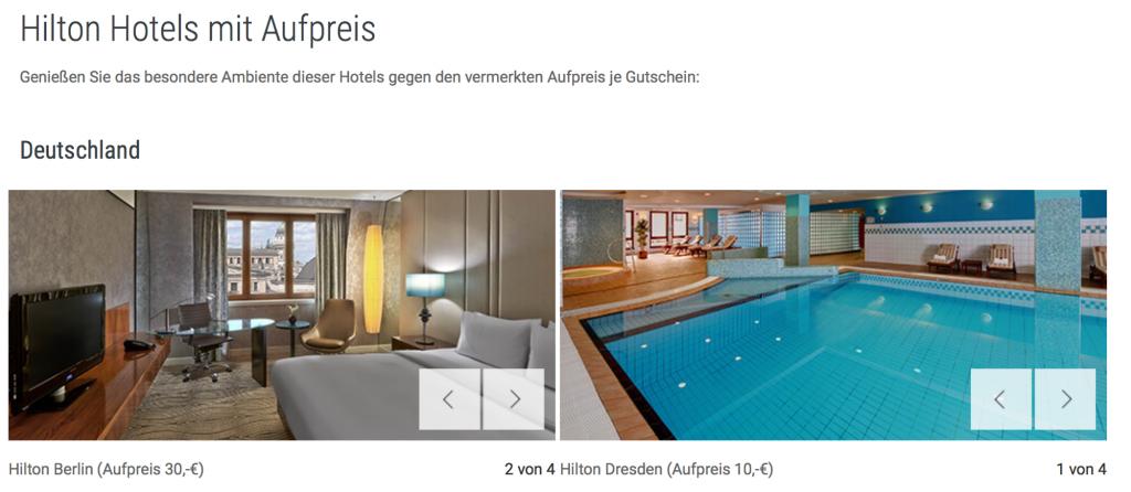 Hilton Gutschein Hilton Berlin