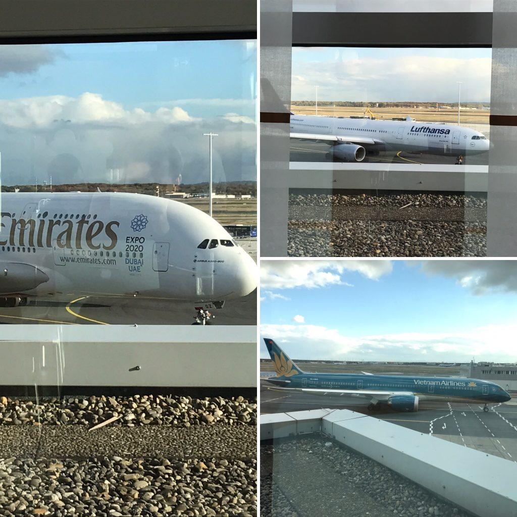 InsideFlyer Wochenrückblick Ausblick Lufthansa Business Lounge Frankfurt