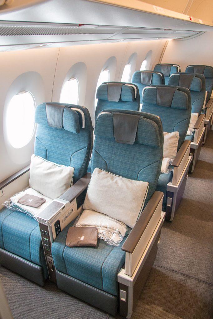 Cathay Pacific Premium Economy Class Kabine