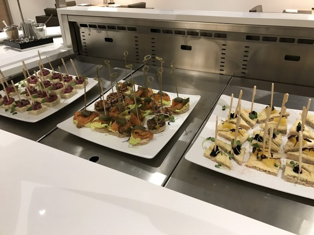 The Westin Hamburg Club Lounge Snacks