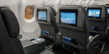 Scandinavian Airlines SAS Plus Sitz