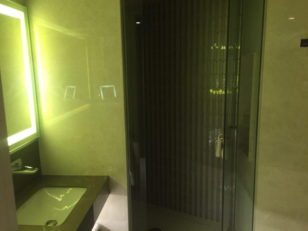 Hilton Istanbul Kozyatagi Executive Room Badezimmer