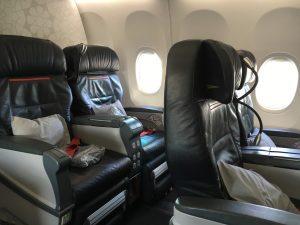 Turkish Airlines European Business Class Sitz