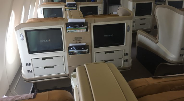 InsideFlyer Wochenrückblick Singapore Airlines Business Class Review