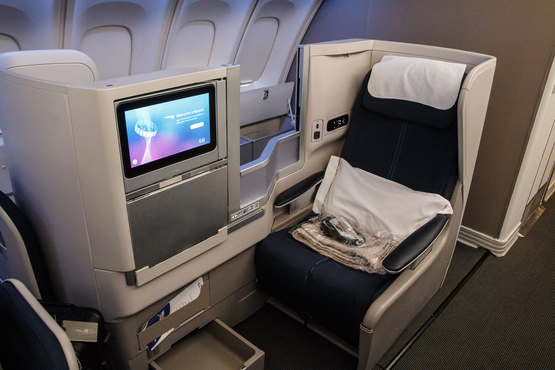 British Airways Business Class nach Shanghai