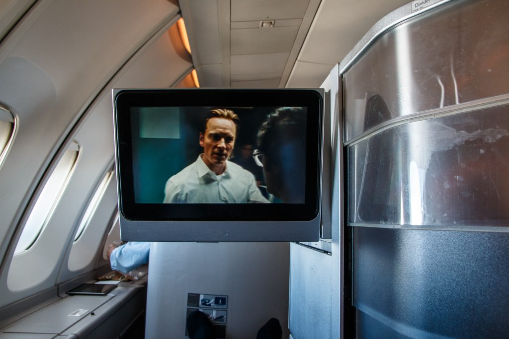 British Airways Club World Entertainment