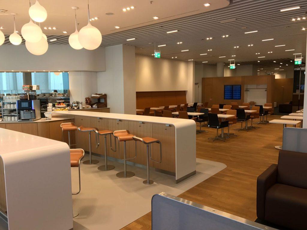 Lufthansa Senator Lounge München L Sitzgelegenheiten