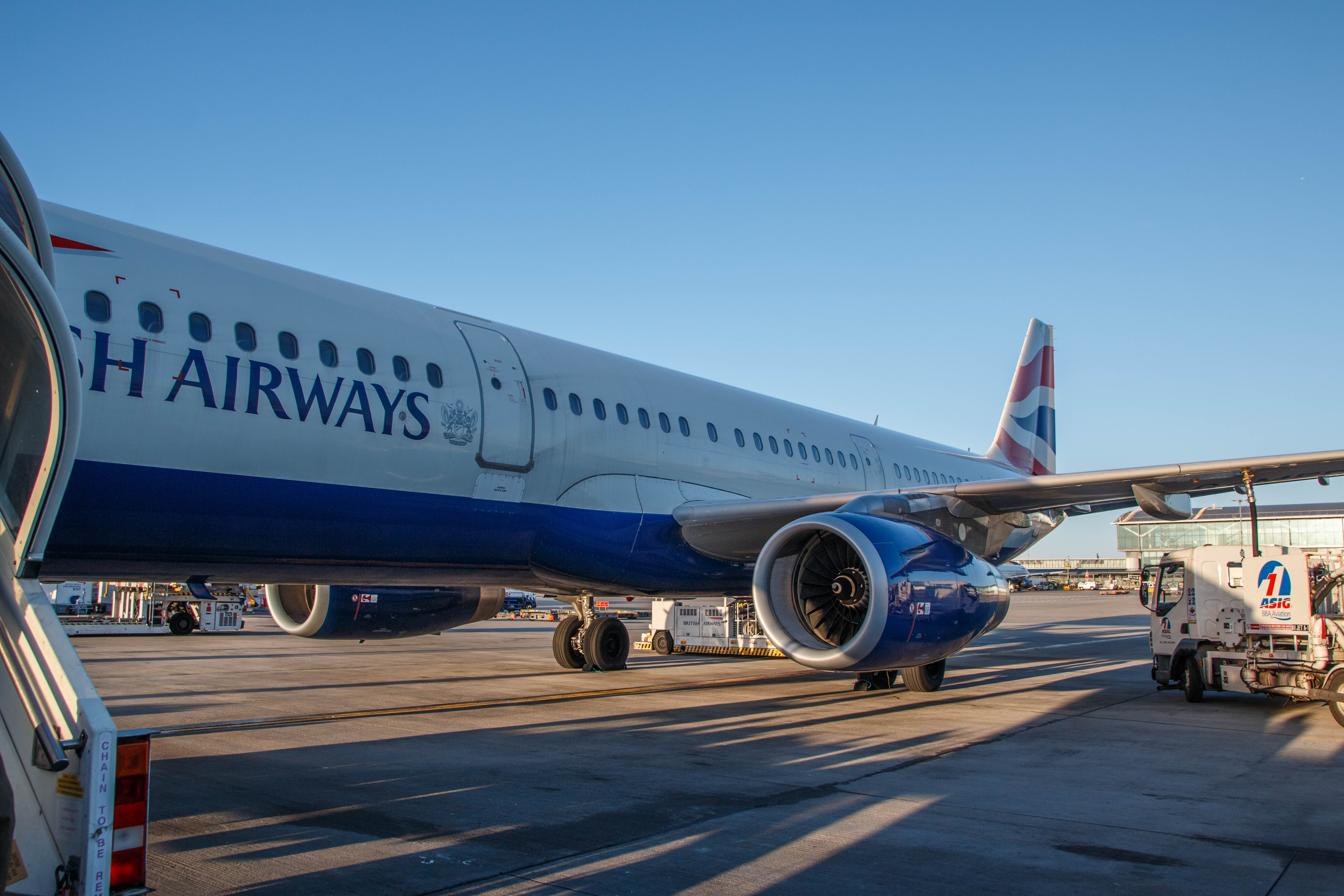 British Airways Business Class A321