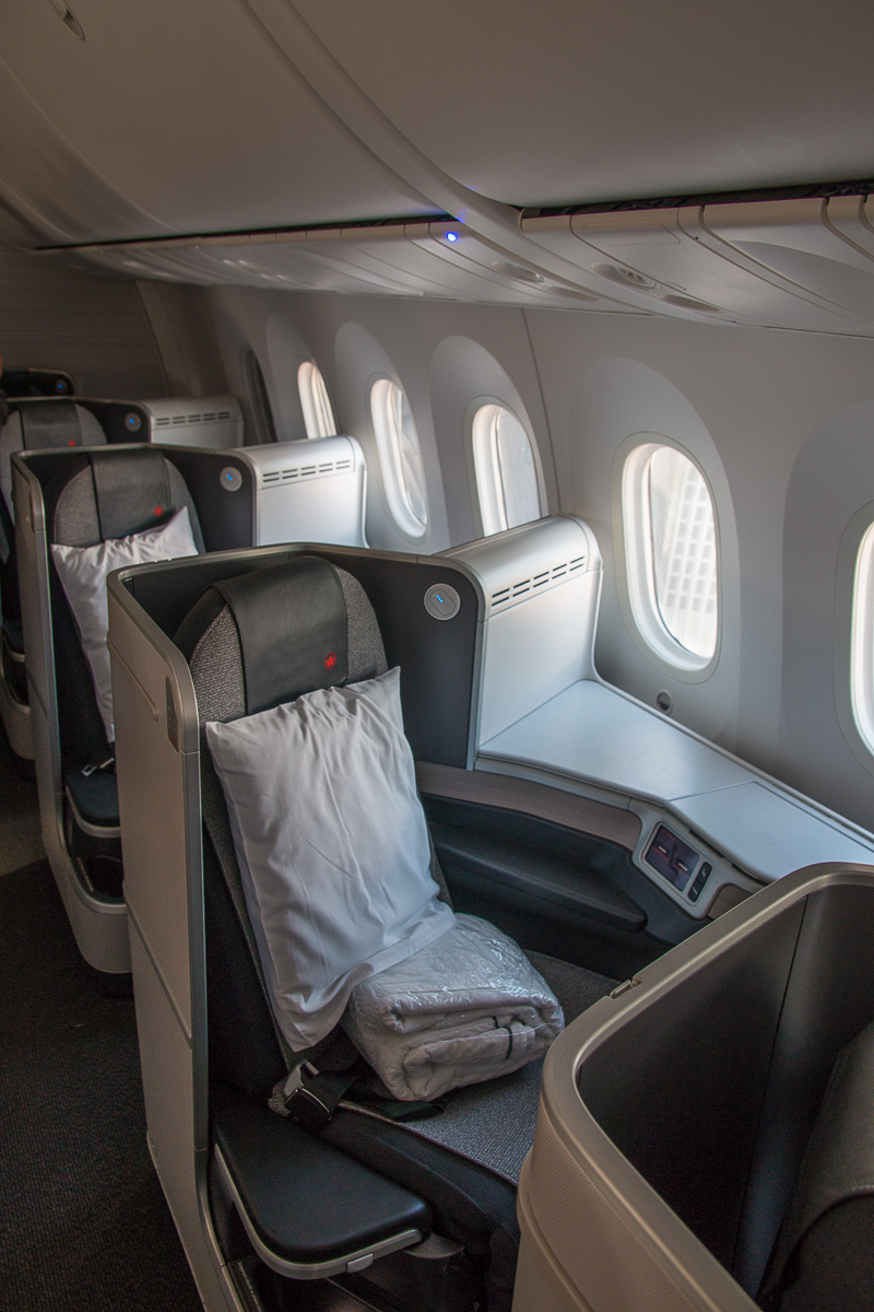 Air Canada Business Class Boeing 787 Sitz