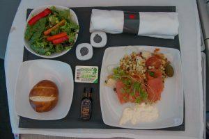 Air Canada Business Class Vorspeise