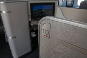 Air Canada Business Class Boeing 787 Sitz