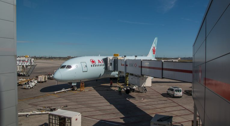 Air Canada Business Class Boeing 787