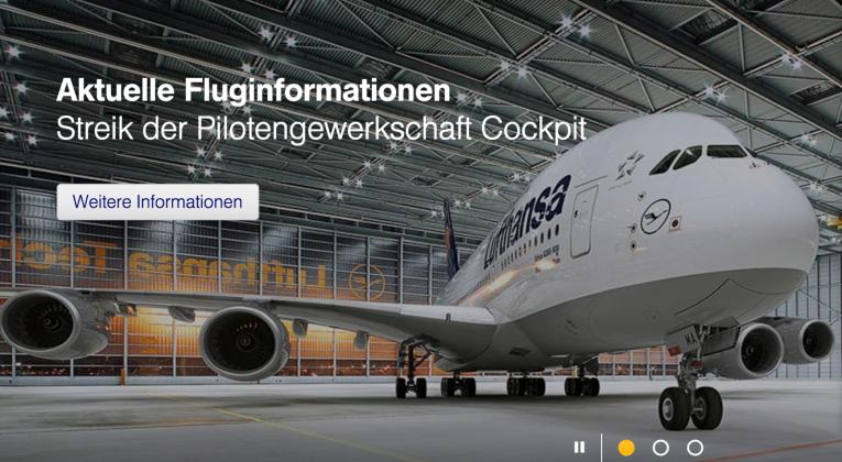 Lufthansa Streik