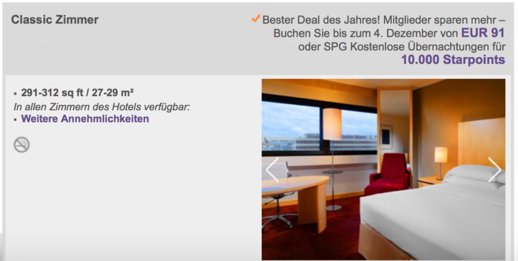 SPG Cyber Monday Sale Sheraton Frankfurt
