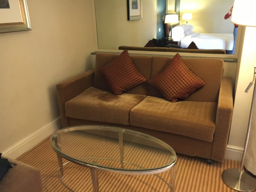 Sheraton Skyline London Club Room Couch
