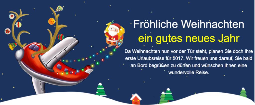 Air China Merry Christmas Sale