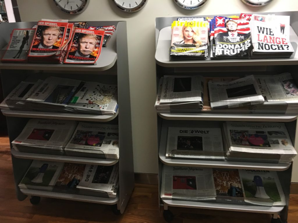 Lufthansa schafft Zeitschriften an Bord ab